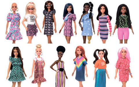 New Barbie Fashionistas 2020 dolls. Updated with new photos and links!
