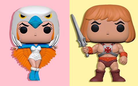 Funko Pop Masters of The Universe new vinyls