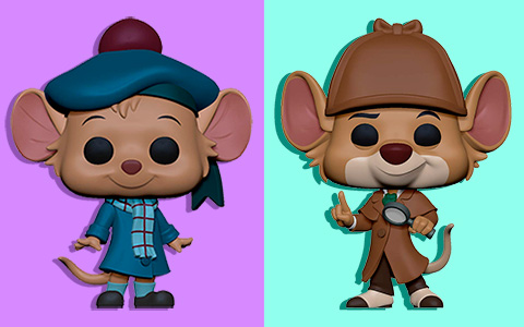 New Funko Pop! Disney: Great Mouse Detective vynils