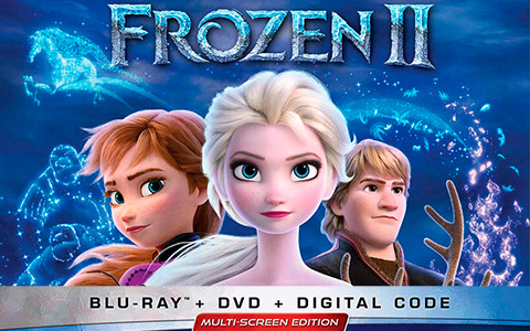 Frozen 2 Blu-Ray is out! There will be lots of bonus exclisive materials on Frozen 2 Blu-Ray and DVD. See details.