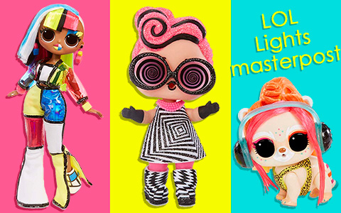 LOL Surprise Lights Masterpost: L.O.L. Surprise! Lights Glitter, L.O.L. Surprise!  Lights Pets, L.O.L. Surprise! OMG Lights dolls