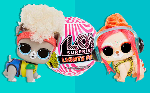LOL Surprise Lights Pets. New promo pictures.