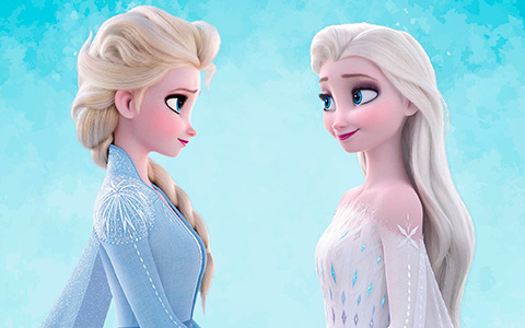 New Frozen 2 pictures. Including pictures of Elsa in white dress