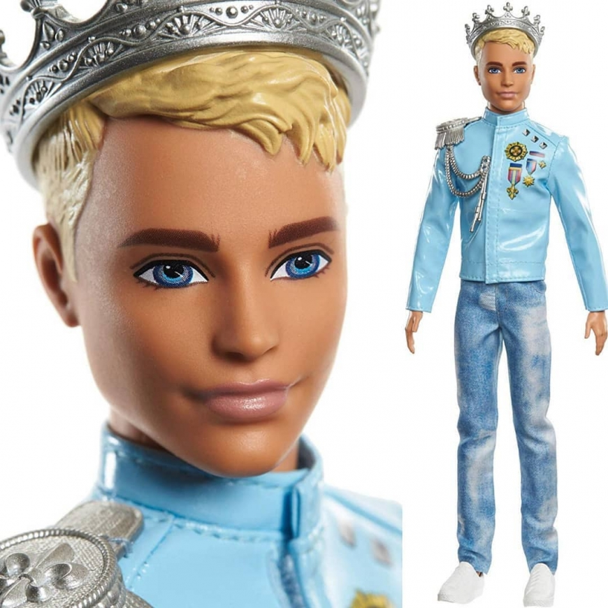 prince Ken Barbie Princess Adventure doll