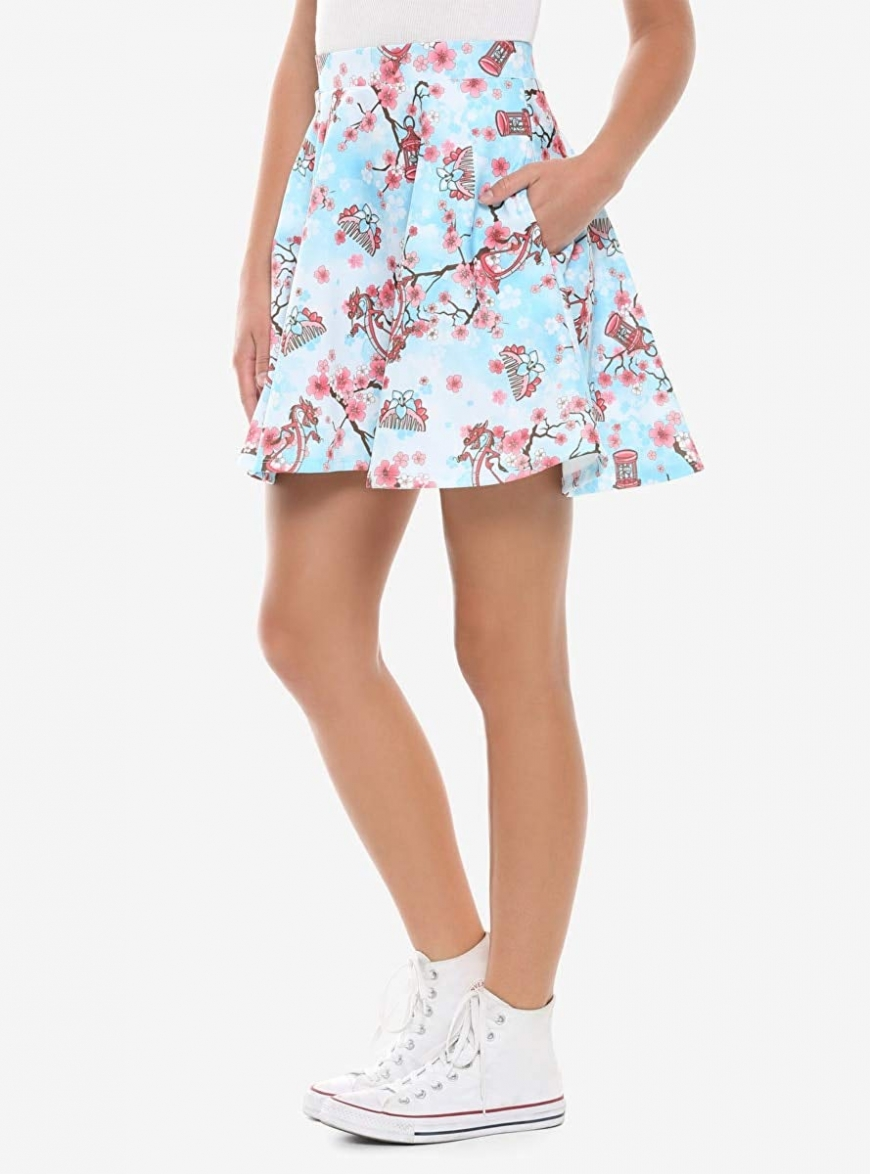 Spring skirt hot topic mulan