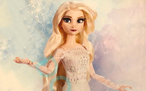 Disney Frozen 2 Limited edition dolls Elsa Snow Queen in white dress and Anna Queen of Arendelle new images, release date and edition size