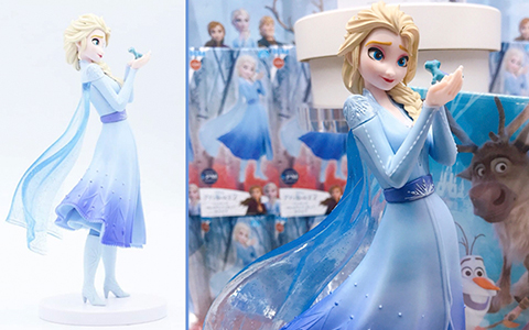 Frozen 2 Elsa and Bruni SEGA Limited Premium Figure is out, is cute and selling really fast