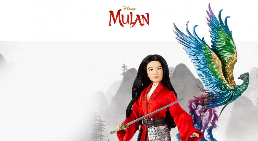 Disney Mulan live action imited edition doll with phoenix