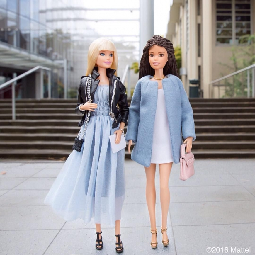 Mattel releases first ever collector Barbie Style fashion doll and asks for our opinion. Vote now for spring-themed fashions!