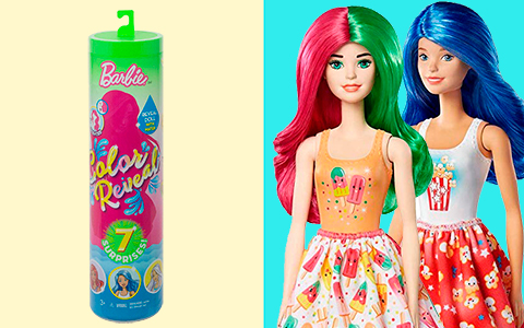 Barbie Color Reveal series 2 - Foodie Series dolls are out!