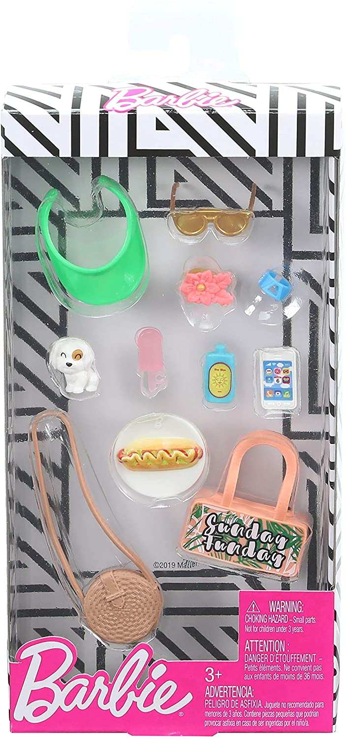 Barbie Fashion Summer Weekend accessory pack