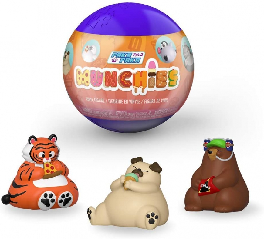 Funko Paka Paka Munchies - new funny chubby animals with food mystery collectables