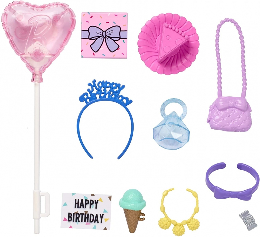 Barbie Happy Birthday accessory pack