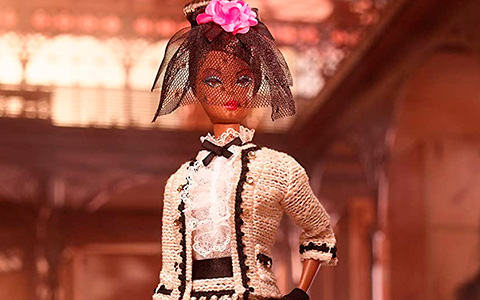 Promo images of Barbie Best To A Tea Silkstone dol