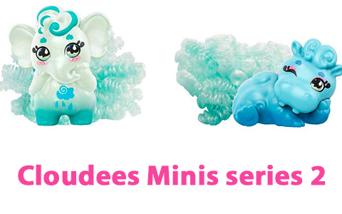 Mattel Cloudees Minis series 2 new toys photos