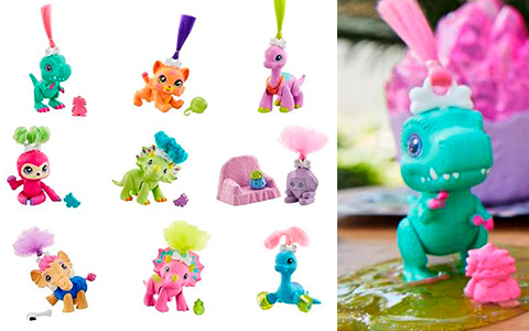 Cave Club Dino Baby Crystals toys