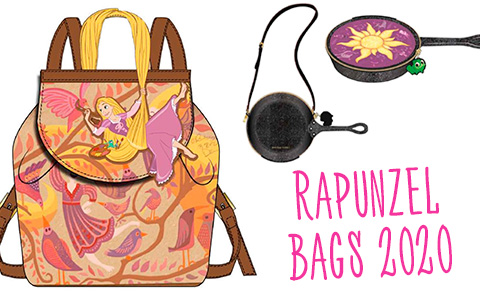 Danielle Nicole Rapunzel Tangled bags collection