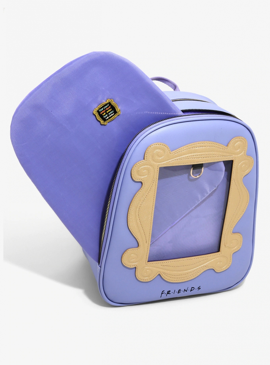 Friends Pin Collector Mini Backpack