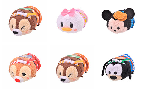 Disney Tsum Tsum Summer Festival collection from Japan