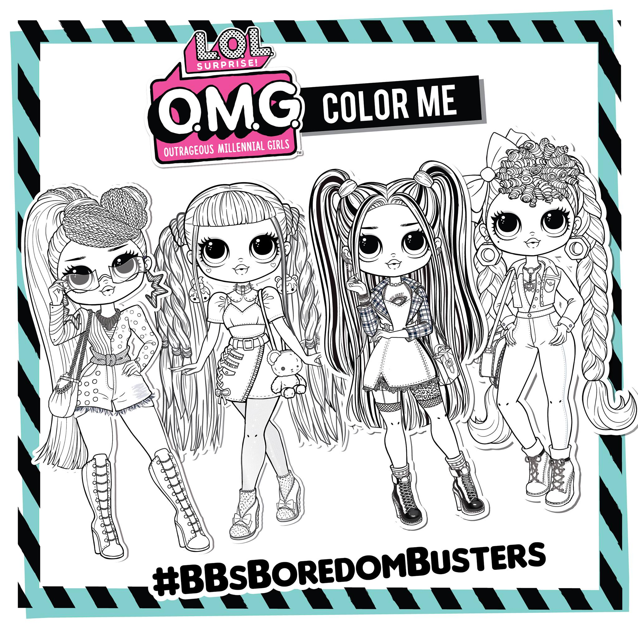 Lol Omg Coloring Pages Youloveit Com
