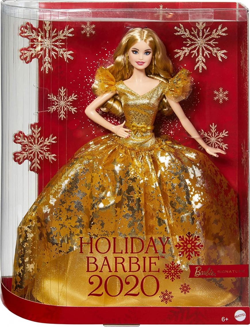 Holiday Barbie 2020 dolls got listings on Amazon