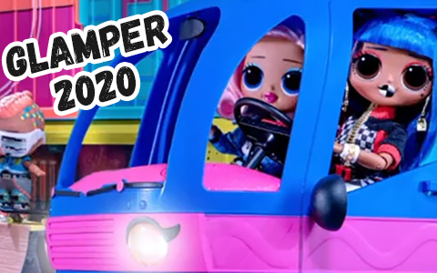 LOL Surprise OMG Electric Blue Glamper 2020 is available for preorder
