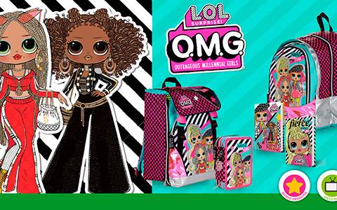 LOL OMG back to school products: backpacks, notebooks, pencil cases and more