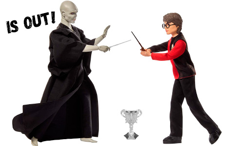 Harry Potter Lord Voldemort duel with Harry dolls from Mattel are out for preorder