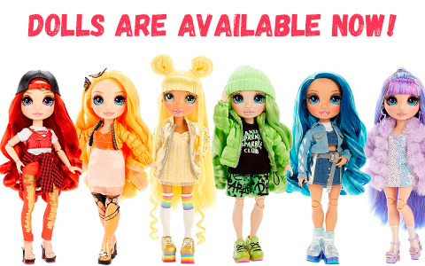 Rainbow High dolls are released and available now!