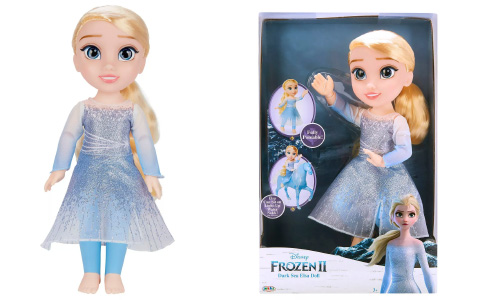 Frozen 2 Elsa Dark Sea doll from Jakks