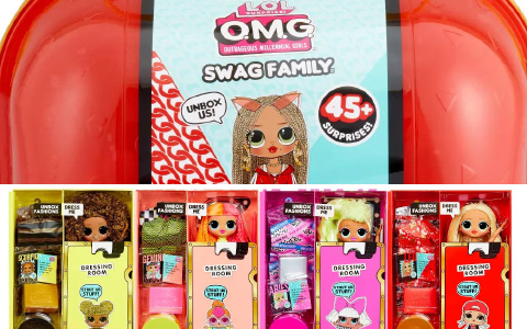 More LOL OMG re-releases! Swag family and LOL OMG series 1 - 4 in 1 pack