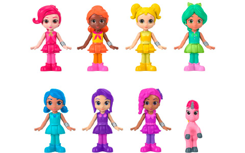 Mattel has launched the first Fisher-Price toy line with Rainbow Rangers