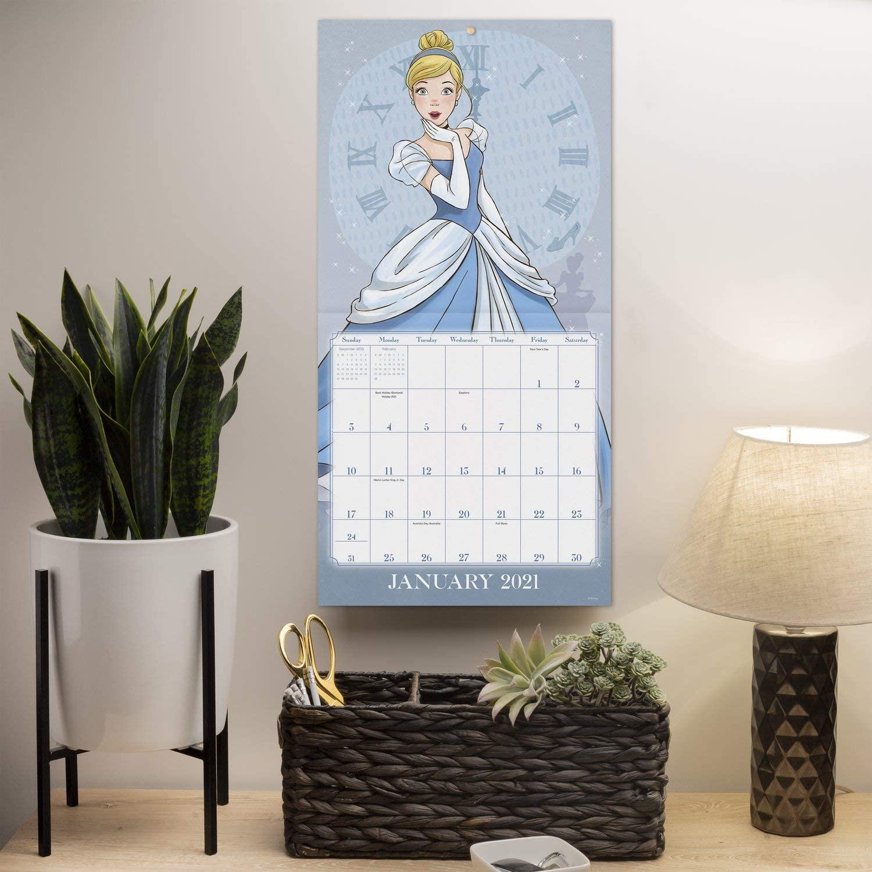 Disney Princess New Monthly Wall Calendar 2021 Youloveit Com