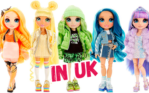 Rainbow High dolls are up for preorder in UK