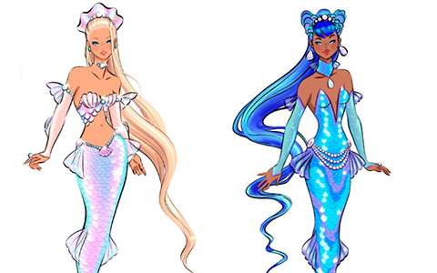 2020 Barbie Signature Doll Design Showdown: Concept arts for next club doll