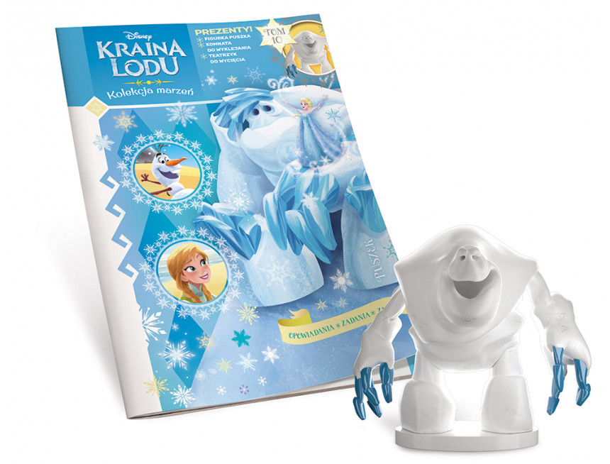 Frozen 2 magazine from Poland with figures