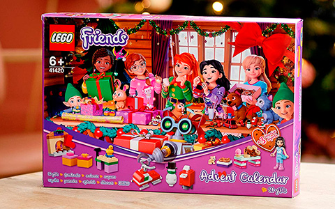 New LEGO Advent Calendars 2020: LEGO Friends, LEGO City and LEGO Star Wars