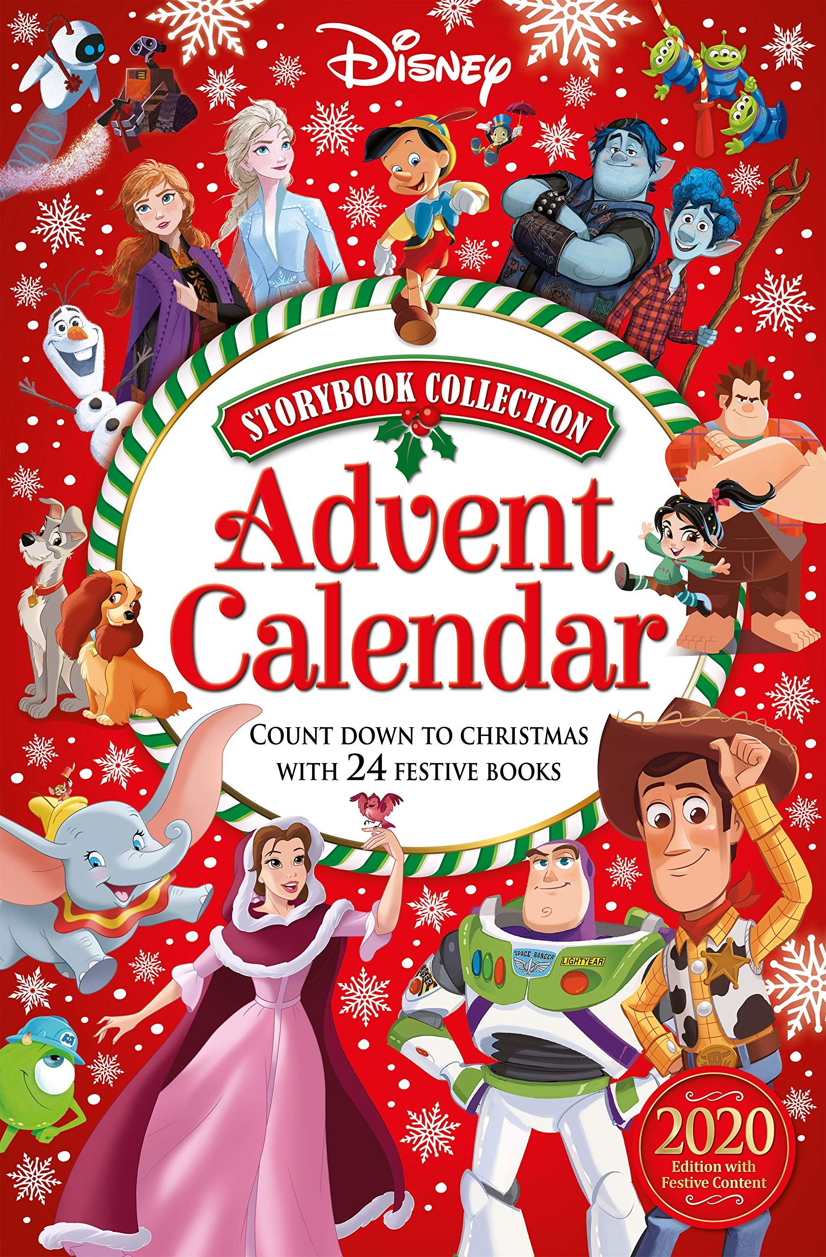 Disney Storybook Collection Advent Calendar 2020 - 2021 ...