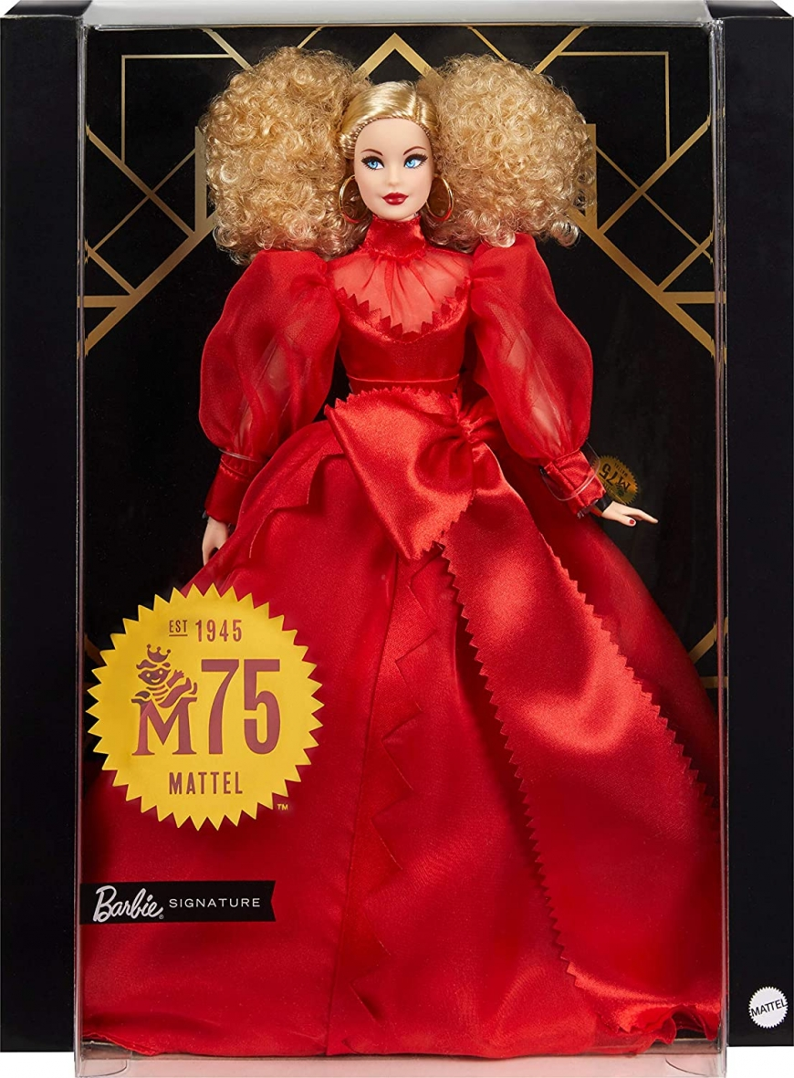 Barbie Collector Mattel 75th Anniversary doll 2020