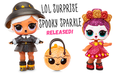 LOL Surprise Spooky Sparkle Bebe Bonita and Witchay Babay limited editition Halloween 2020 dolls