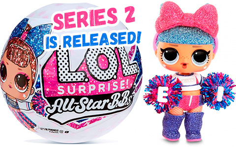 New LOL Surprise All Star B.B.s Series 2 Cheer Team