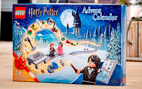 LEGO Harry Potter Advent Calendar 2020 - The Hogwarts Yule Ball