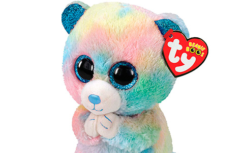 Ty Beanie Boo Small Hope the Bear Plush - the pandemic time toy