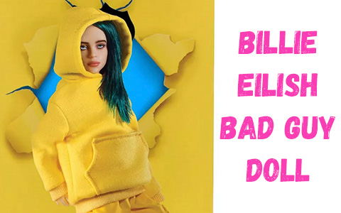 Billie Eilish Bad Guy doll from Playmates