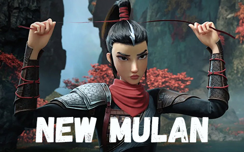 Kung Fu Mulan - new animated movie. Chinese adaptation of the story of Mulan.