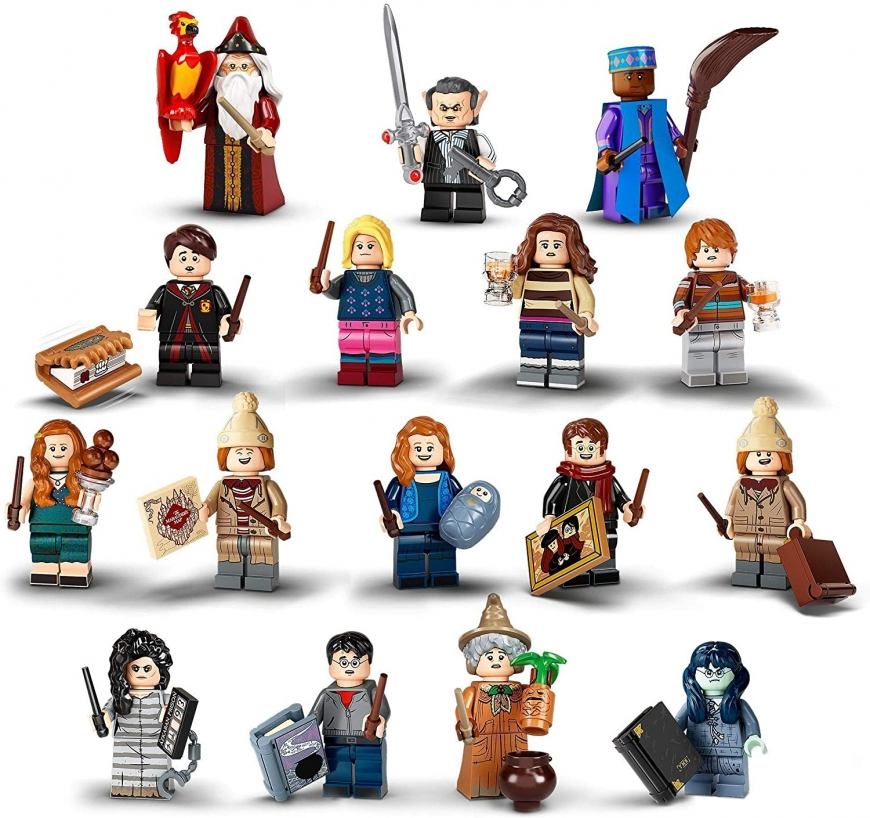 LEGO Harry Potter mini figures series 2 2020