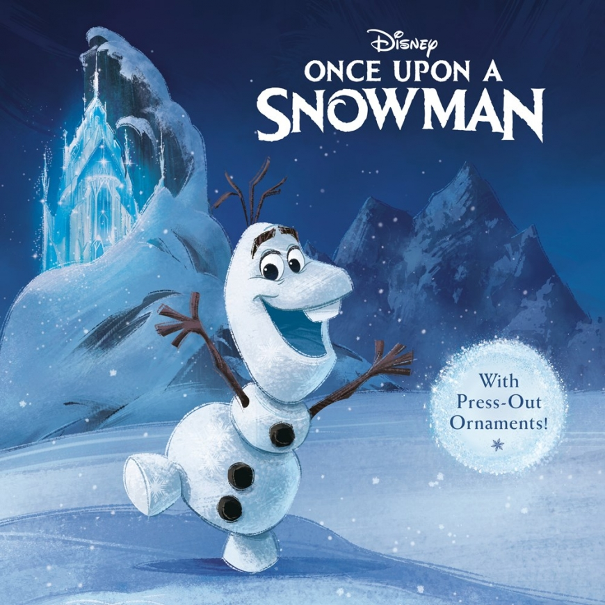 Once upon a snowman book Frozen