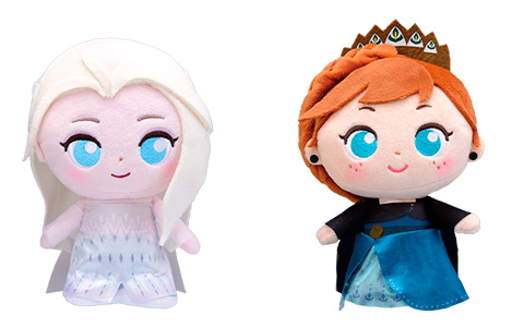 Frozen 2 Sega Prize moipon plushes dolls