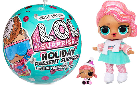 LOL Surprise Holiday Present Surprise - Winter Holiday 2020 limited edition dolls