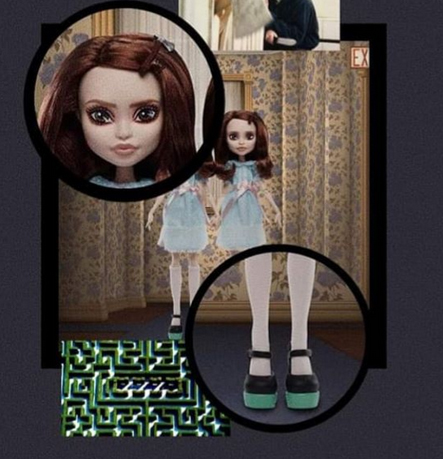 Monster High collector dolls references